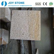 G682 Rusty Yellow Granite Cubestone Cheap Price Standard Size