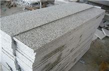 Alternative Flamed G655 White Granite Stair Steps