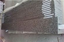 Luxurious G664 Polished Misty Mauve Brown Granite Window Sills