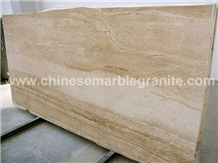 Yellow Mountains Veins Beige Marble Slabs