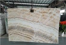 Beige Onyx Slab & Tile, China Beige Onyx