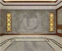 Erlake Blue Marble Interior Decorations