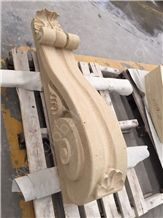 Moca Cream Limestone Sculpture Wall Stone