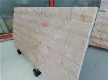 Tippy Beige Limestone Tiles,Mushroomed Stone Beige Walling Tiles