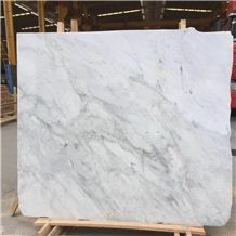 China White Marble,18mm Thk Cheap Marble,New Volacas Slabs Tiles
