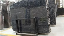 Diamond Fall Granite Slabs & Tiles,Brazil Black Granite Slabs & Tiles