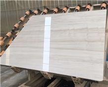 Eurasian Wood Grain Marble,China Wooden Vein Marble, White Marble
