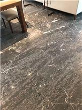 Italy Grey Saint Laurent Marble Slabs,Gless Grey Marble Floor Tiles