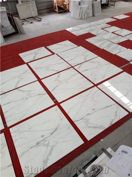 White Marble Composite Wall Tiles