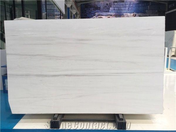 Bianco Dolomite Venato Marble Slabs