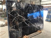 Smoky Black Venice Gold Marble Slabs&Tiles Interior Wall and Floor