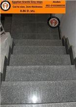 Egyptian Grey Granite Steps