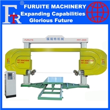 Frt-2500 Diamondbead Wire Saw Cnc Machine Block