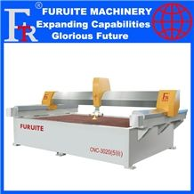 Frt-3020 Cnc Waterjet Cutting Machine Serve Motor 5axis