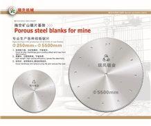 Saw Blank for Mining Machine