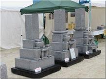 Oshima Ishi Japanese Style Tombstones