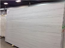 Arctic Liso Branco Macauba Pantheon White Macaubas Quartzite Slabs