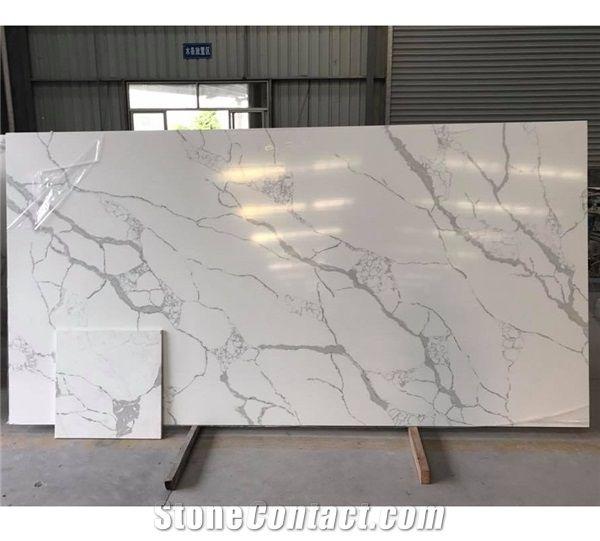 Artificial Stone Factory Price Calacatta Marble Vein