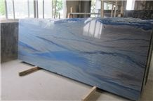 Azul Macaubas- Azul Imperial Blue Sky Grand Skylight Quartzite Slabs