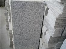 Bianco Sardo White Leopard G640 Sardinian Grey White Granite Tiles