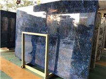 Blue Azul Bahia Exotic Stone Blue Bahia Sodalite Blue Marble Slabs