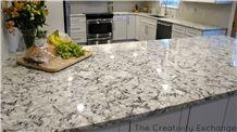 Blue Ice Blue Persa Pearl Delicatus Star White Granite Kitchen Countertops