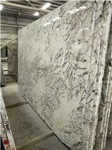 Blue Ice Persa Pearl Delicatus White Star Granite Slabs