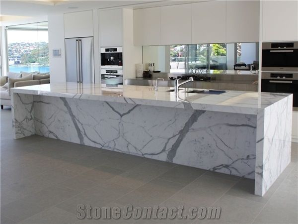 Calacatta Marble Counter Top For