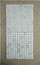 Carrara Marble Italian White Bianco Carrera Mini Brick Mosaic Tiles