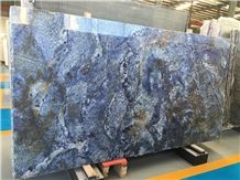 Elegant Blue Azula Bahia Blue Bahia Natural Stone Exotic Granite Slabs