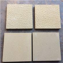 Exterior Wall Cladding Mushroom Flamed Natural Surface Beige Sandstone