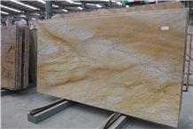 Golden Yellow Macaubas Giallo Macaubas Sao Tome Yellow Bamboo Quartzite