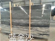 Italian Palissandro Blue Marble Slab for Project