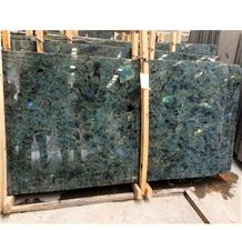 Madagascar Blue Labradorite Lemurian Blue Flower Granite Slabs