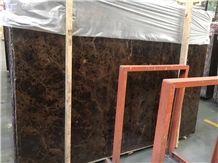 Wholesale Spanish Dark Castanho Emperador Brown Marble Slabs
