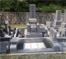Oshima Ishi Granite Stone Japanese Style Monuments