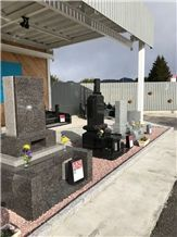 Granite Japanese Tombstones