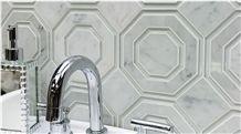 Bianco Venatino White Marble Tiles