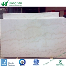 Decoration White Marble Stone Honeycomb Panel for Curtain Wall