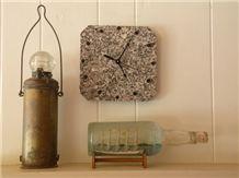 Deer Isle Granite Wall Clock, Octagon