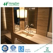 Bathroom Stone Honeycomb Panel
