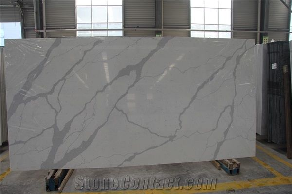 Thin Artificial Quartz Slabs For Shower Wall Panels From