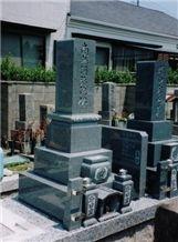 Ushiiwa Ishi Japanese Tombstones