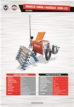 Marble - Granite Hydraulic Drilling Machine