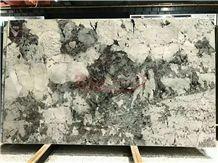 Bianco Antico Granite Silver Fox Granite Slabs for Countertop