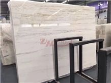 Caraso Wood Grain Marble White Jade Marble for Floor Covering