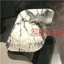 Cold River Marble,Winter River Marble,Winter Snow Marble Table Top