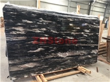 Fantasy Black,Venice Golden Gray Marble Slab