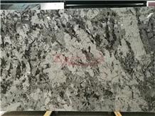 Mountain Silver, Bianco Antico Granite Slab