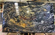 Nero Picasso Marble Lotus Fantastic Black Picasso Marble Slabs